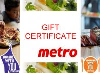Gift Certificate. Waterfront dining at the marina from Easter through to late October. Like them on Facebook